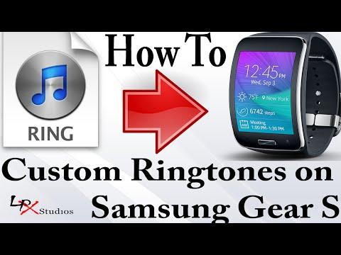 How To Put Custom Ringtones on the Samsung Gear S