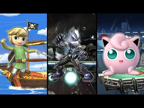 Super Smash Bros. Brawl - Bonus Episode: How to Get Toon Link, Wolf, and Jigglypuff