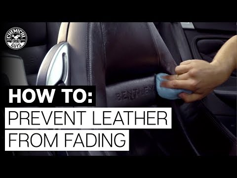 How To Prevent Leather Cracks and Fading? | Bentley Continental GT | Chemical Guys Car Care