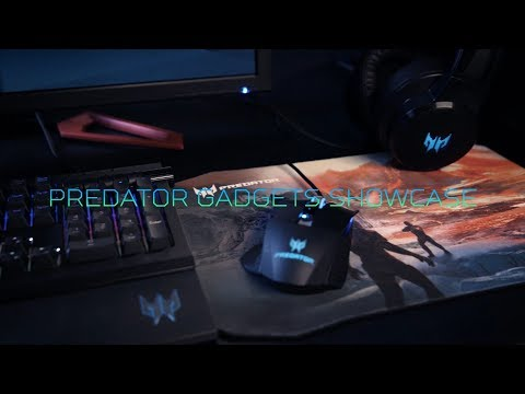 First look at the Predator Gadgets gaming accessories | Predator