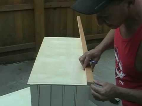 Make your own cabinet molding (On a budget)