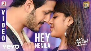 Mr. Majnu - Hey Nenila Telugu Video | Akhil Akkineni, Nidhhi | Thaman S