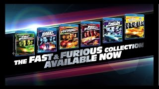 The Fast & Furious Collection - On Blu-ray & DVD Now (Universal Pictures) HD