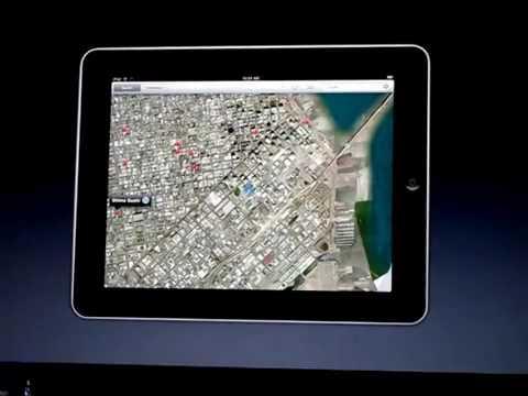 Como funciona o Google Maps no iPad