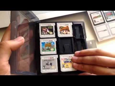 Nintendo 3DS Game Card Case Unboxing