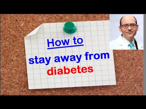 How to Stay Away From Diabetes ? Dr Michael Greger