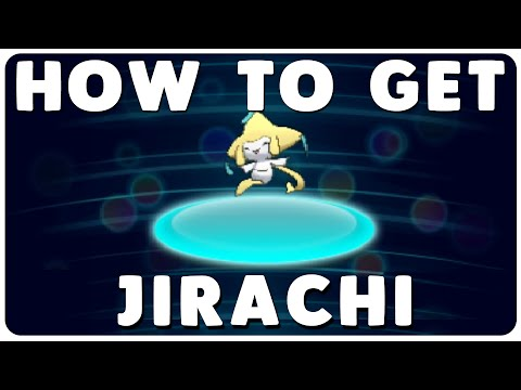 How to get Jirachi for the month of April 2016 from Mystery Gift in Pokemon ORAS and X & Y!