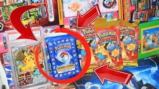 Opening 7 Old & Rare Pokemon Items