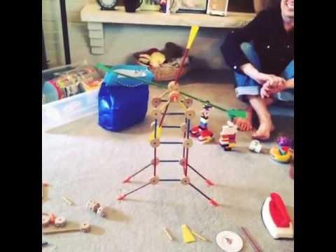 Tinker Toy Windmill