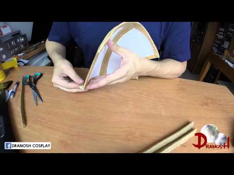 Worbla Tutorial - How to make a shoulder armor (Part 1)