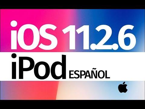 Como Actualizar al iOS 11.2.6 - iPod touch
