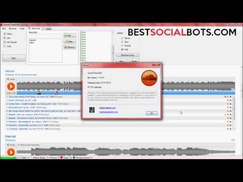 Soundcloud Bot - Get more Soundcloud Followers, likes, Plays, Comments