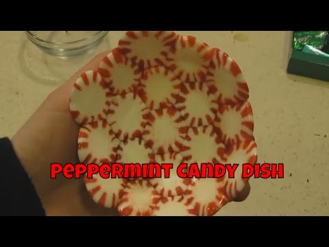 Peppermint Candy Dish