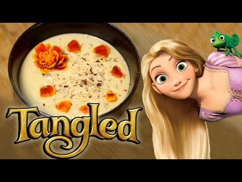 How to Make HAZELNUT SOUP from Tangled! Feast of Fiction S5 Ep19