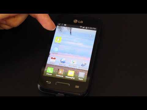 Tracfone LG Optimus Fuel Tutorial (Video 2)