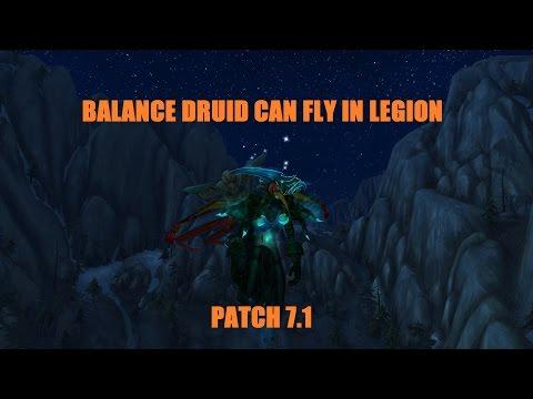 Balance Druid flying in Legion