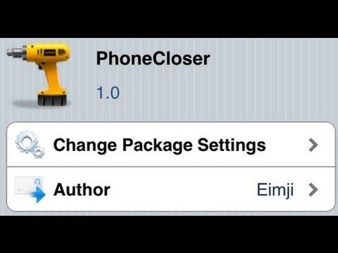 PhoneCloser  iPhone 3G 3GS 4 4 0
