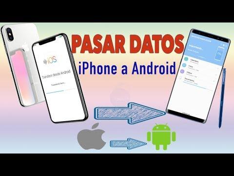 Como Pasar Datos de iPhone a Android