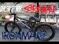 BUILDING UP MY SIGNATURE BMX FRAME THE IRONMANE | DYLAN STARK STRANGER BMX