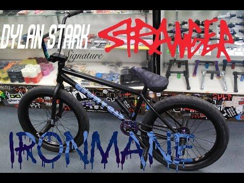 BUILDING UP MY SIGNATURE BMX FRAME THE IRONMANE | DYLAN STARK STRANGER BMX