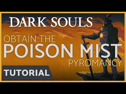 Dark Souls: How to get the Poison Mist Pyromancy Spell & the Pyromancer Armor Set