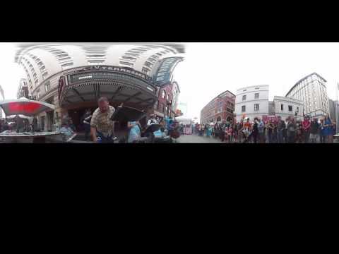 360 Video | Jazz on Gay Street