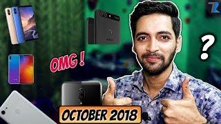 Top Upcoming Smartphones To Launch In India [October 2018]