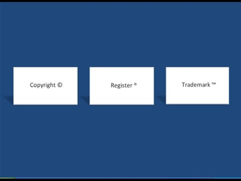 Learn ms word easily | How to create a symbol copyright register trademark