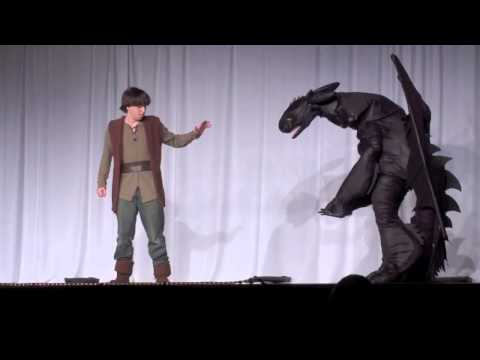 Anime North 2013 Hiccup And Toothless