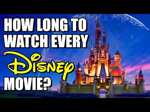How Long Would It Take to Watch Every Disney Movie?