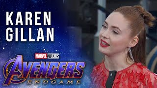 Karen Gillan talks Nebula's Journey LIVE from the Avengers: Endgame Premiere