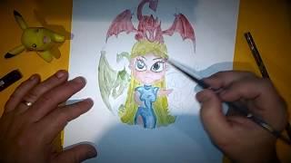 Download como dibujar a kalessi rapido y sencillo Video