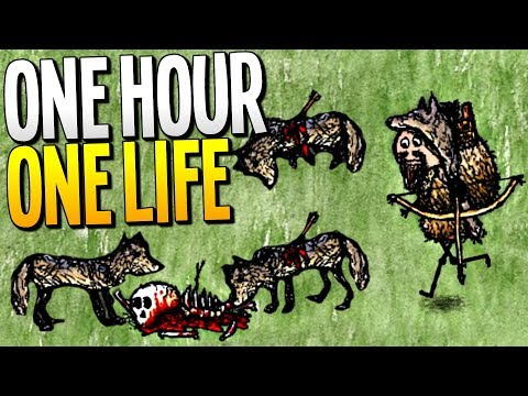 BRAVE WOLF HUNTER PROTECTS THE CITY FROM DANGER - One Hour One Life Gameplay
