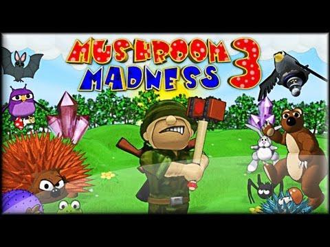 Mushroom Madness 3 - Walkthrough (1-15 lvl)