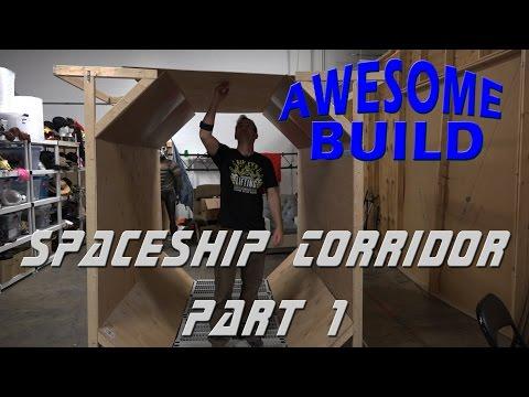 Spaceship Corridor - Awesome Build