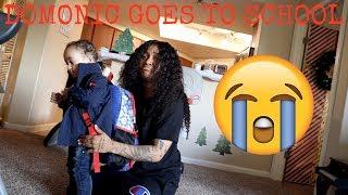 DOMONIC GOES TO SCHOOL!!! *bitter sweet*