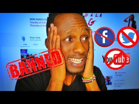 FACEBOOK, INSTAGRAM, YOUTUBE  BANNED IN KENYA BY KFCB!?!?!?