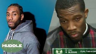 Kawhi Leonard GHOSTS The Spurs, Eric Bledsoe SUFFERS Amnesia!   Huddle