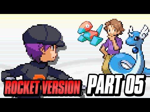 Pokemon Team Rocket Edition Rom Hack! (Pokemon GBA Fire Red Rom Hack) Part 5 w/ FeintAttacks