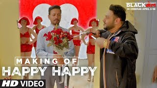 Making Of Happy Happy | Blackmail |  Irrfan Khan | Kirti Kulhari | Badshah