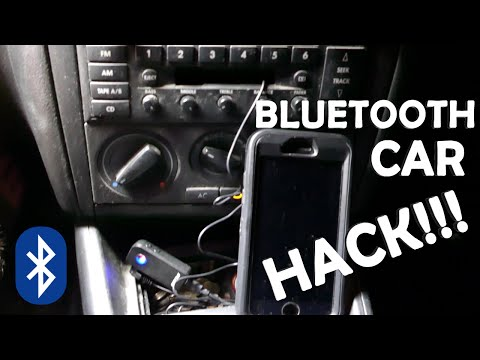 Bluetooth Car Hack! - How To Make Any Old Car Bluetooth!!