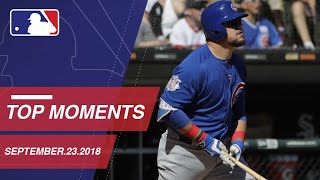 Top 10 Moments around MLB: September 23, 2018