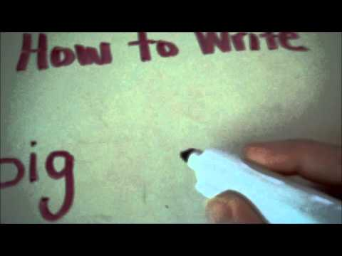 How to Teach Your Child to Write: Letter Placement
