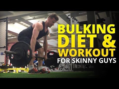 Best Bulking Diet and Workout for Skinny Guys
