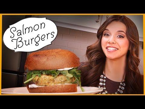 Ingrid Dishes | Salmon Burgers | Recipes from Missglamorazzi