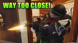Way Too Close! | Rainbow Six Siege Gameplay
