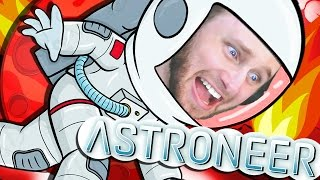 ASTRONEER | DEADLY RED PLANET OF DEATH!! [4]