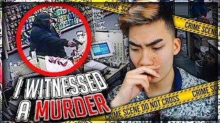 I WITNESSED A MURDER AND VLOGGED IT