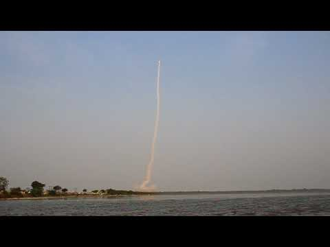 Launch of ISRO's GSAT-6A satellite on-board the GSLV rocket at Sriharikota on March 29th, 2018