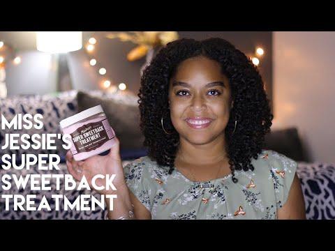 MISS JESSIE'S SUPER SWEETBACK TREATMENT | REVIEW | Danielle Renée